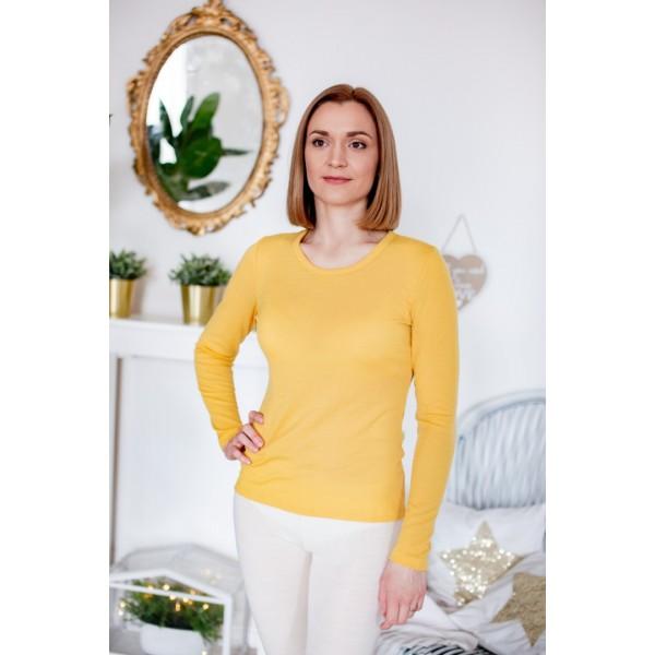 Vilnos marškinėliai ilgomis rankovėmis