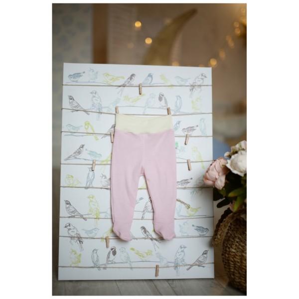 Kelnės su pėdutėmis - kūdikių pėdkelnės