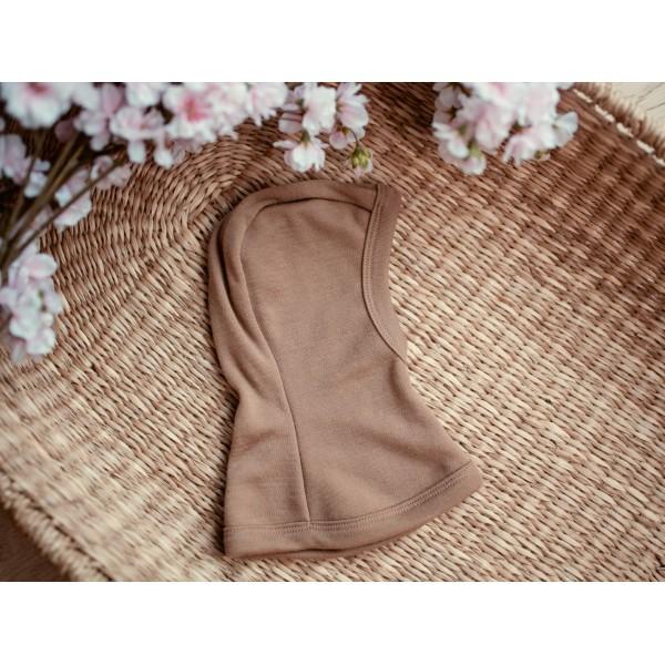 Merino vilnos kepurytės - šalmai