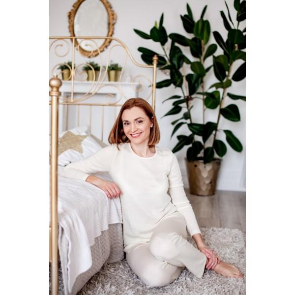 Šilta merino vilnos pižama