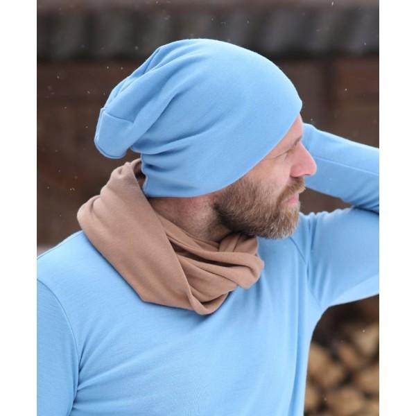 Merino vilnos kepurė vyrams