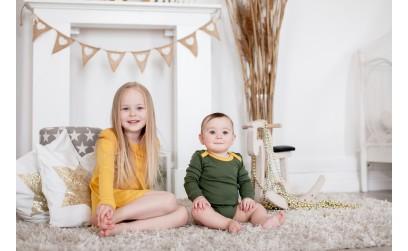 Vilnoniai drabužiai vaikams