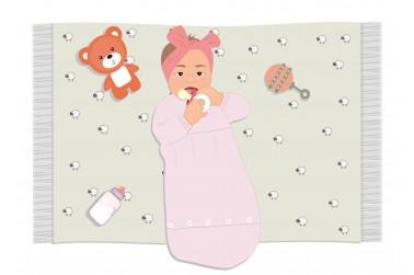 Kaip rengti kūdikį nakčiai?